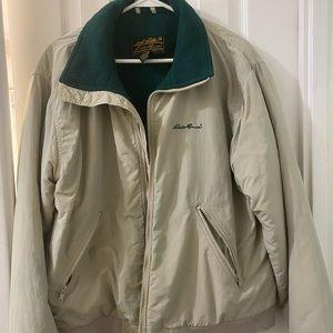 90s Eddie Bauer puffy jacket (men M)